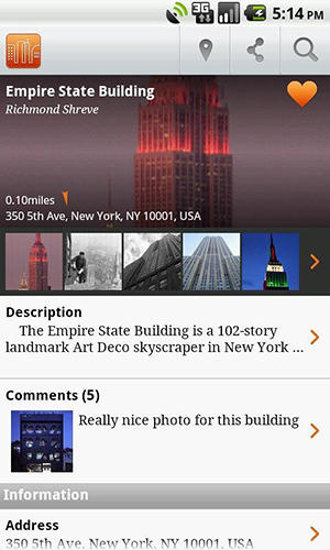 Buildings app for Android, download programs for phones and tablets for free.