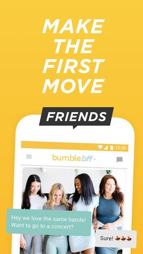 Bumble - Date, meet friends, network