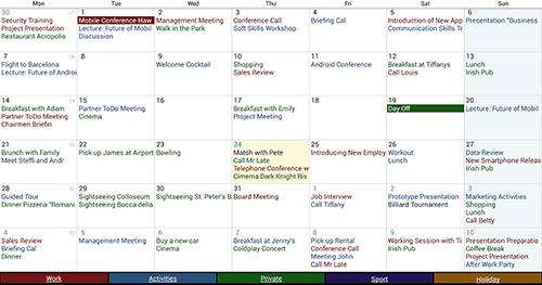 Download Business calendar for Android for free. Apps for phones and tablets.