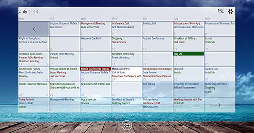 Business calendar app for Android, download programs for phones and tablets for free.