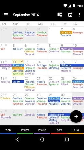 Download Business calendar 2 for Android for free. Apps for phones and tablets.