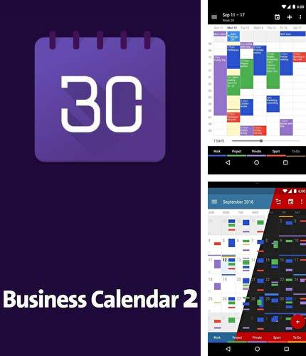 Download Business calendar 2 for Android phones and tablets.