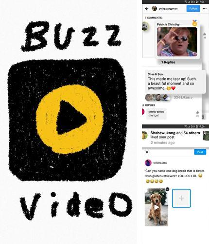 Besides PDF Reader Android program you can download BuzzVideo - Funny comment community for Android phone or tablet for free.