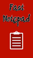 Download Fast notepad for Android - best program for phone and tablet.