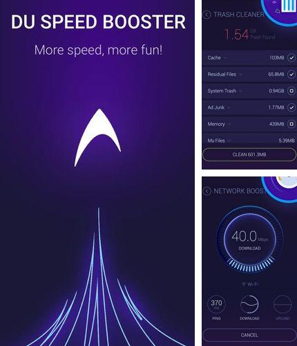 除了Swift gamer – Game boost, speed Android程序可以下载Cache cleaner - DU speed booster的Andr​​oid手机或平板电脑是免费的。