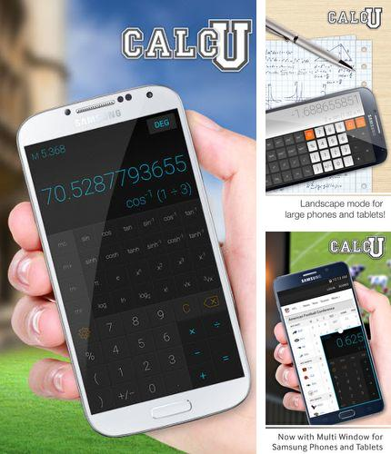 Besides Pulsate Android program you can download CALCU - Stylish calculator for Android phone or tablet for free.