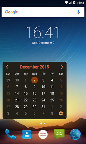 Calendario Android Widget.Calendar Widget For Android Download For Free