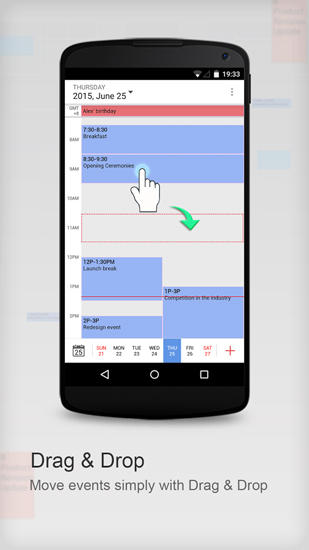 Download Tiny Calendar for Android for free. Apps for phones and tablets.