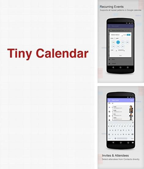 Download Tiny Calendar for Android phones and tablets.