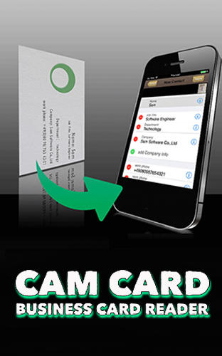 Cam card: Business card reader