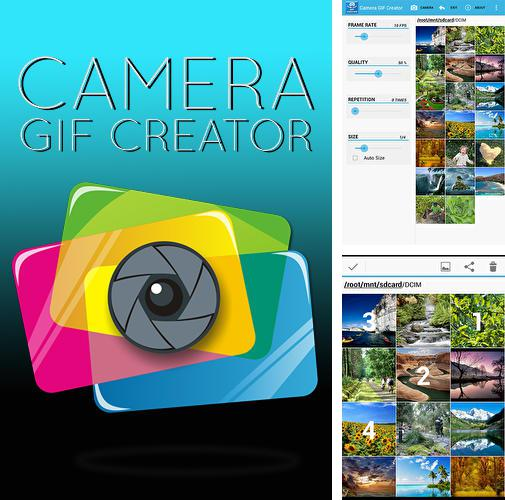 Besides Opera mini Android program you can download Camera Gif creator for Android phone or tablet for free.