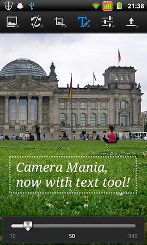 Camera mania app for Android, download programs for phones and tablets for free.