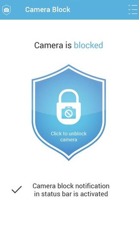 Download Camera block - Anti spyware & Anti malware for Android for free. Apps for phones and tablets.