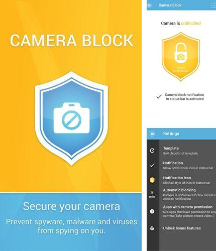 除了Mendeleev Table Android程序可以下载Camera block - Anti spyware & Anti malware的Andr​​oid手机或平板电脑是免费的。