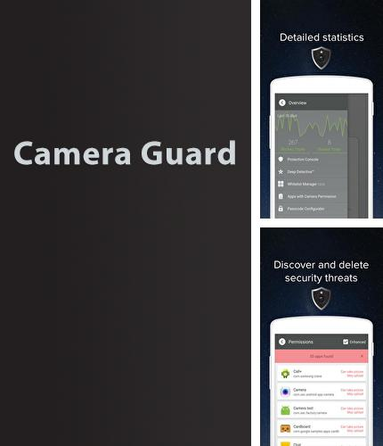 Descargar gratis Camera Guard: Blocker para Android. Apps para teléfonos y tabletas.