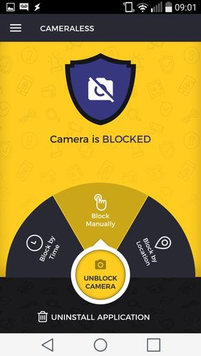 Download Cameraless - Camera block for Android for free. Apps for phones and tablets.