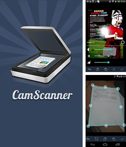 Download Cam scanner for Android phones and tablets.