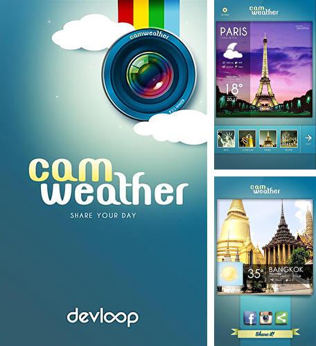 Besides Torque: Bing search assistant Android program you can download CamWeather for Android phone or tablet for free.