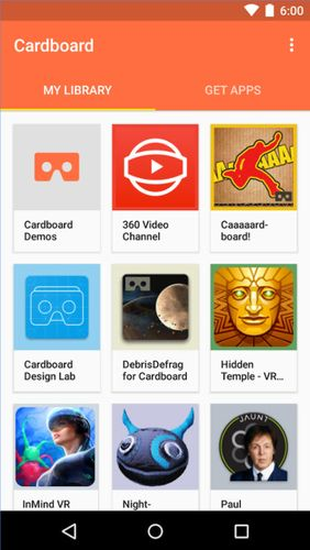 Download Cardboard for Android for free. Apps for phones and tablets.