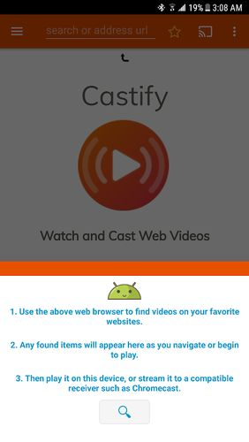 Cast to TV & Chromecast app for Android, download programs for phones and tablets for free.