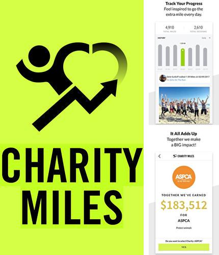 Descargar gratis Charity Miles: Walking & running distance tracker para Android. Apps para teléfonos y tabletas.