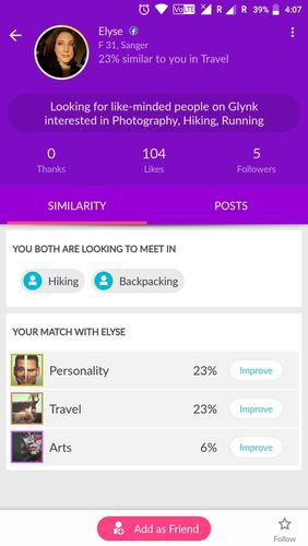 Rove: Chat & meet new people app for Android, download programs for phones and tablets for free.