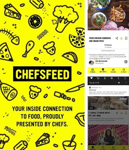 Download ChefsFeed - Dine like a pro for Android phones and tablets.