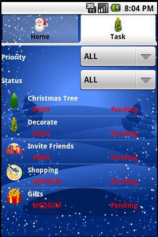 Download Christmas manager for Android for free. Apps for phones and tablets.
