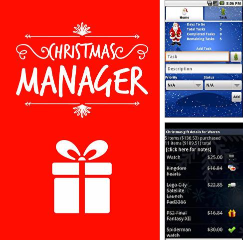 Download Christmas manager for Android phones and tablets.