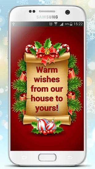 Christmas Greeting Cards app for Android, download programs for phones and tablets for free.