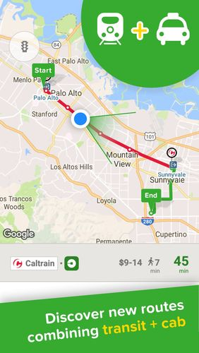 Capturas de tela do programa Citymapper - Transit navigation em celular ou tablete Android.