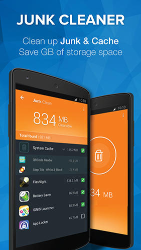 Cleaner: Master speed booster app for Android, download programs for phones and tablets for free.