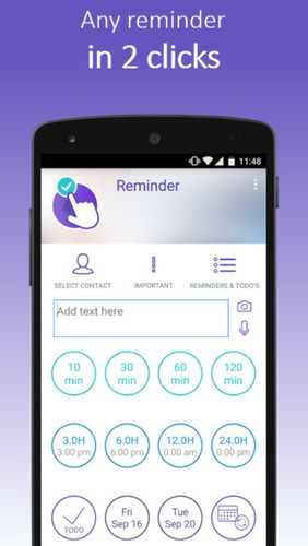 Download Click Me reminder for Android for free. Apps for phones and tablets.