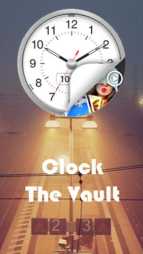 Clock - The vault: Secret photo video locker