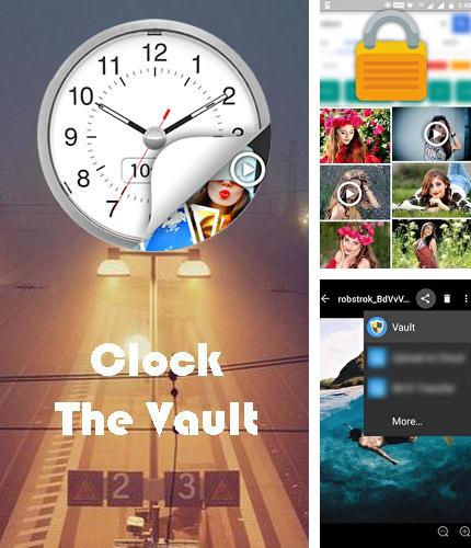 Baixar grátis Clock - The vault: Secret photo video locker apk para Android. Aplicativos para celulares e tablets.