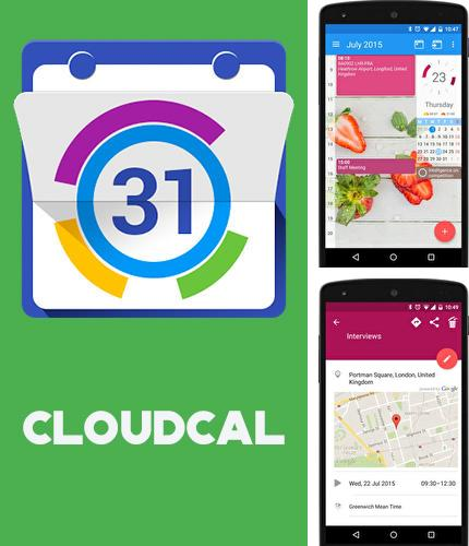 Besides GO keyboard Android program you can download CloudCal calendar agenda for Android phone or tablet for free.