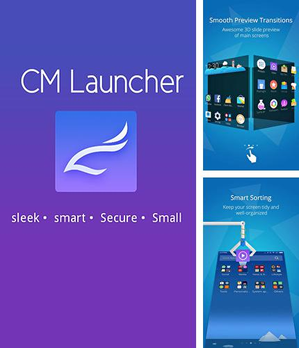 Besides PocketBand Android program you can download CM launcher for Android phone or tablet for free.