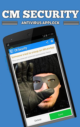 CM security: Antivirus applock for Android – download for free