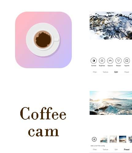 Descargar gratis Coffee cam - Vintage filter, light leak, glitch para Android. Apps para teléfonos y tabletas.