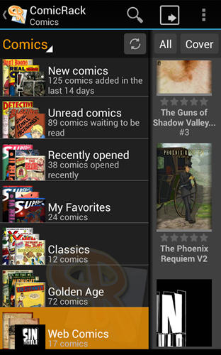 Download Comic rack for Android for free. Apps for phones and tablets.