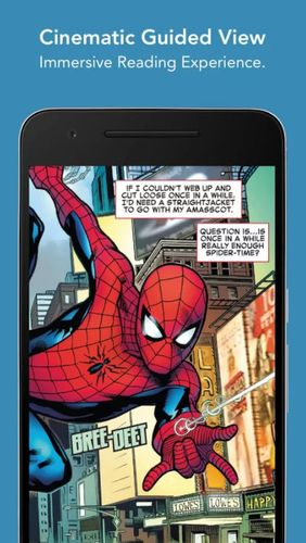 ComiXology app for Android, download programs for phones and tablets for free.