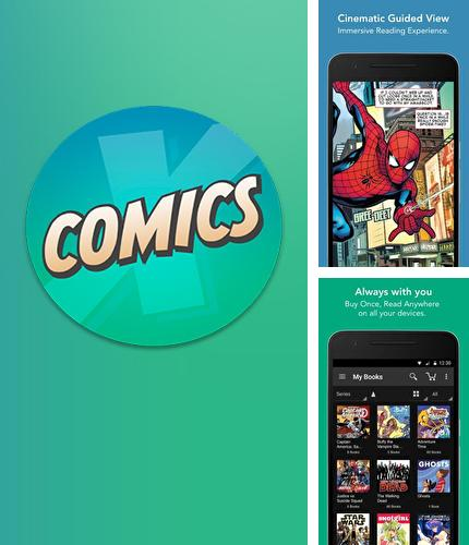 Besides Back Country Navigator Android program you can download ComiXology for Android phone or tablet for free.