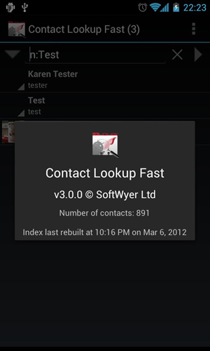 Contact lookup fast app for Android, download programs for phones and tablets for free.