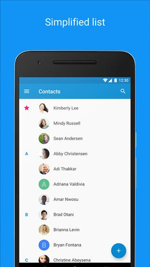 Download Contacts for Android for free. Apps for phones and tablets.