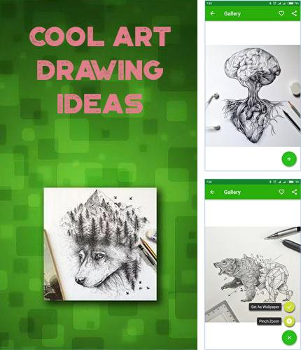 Download Cool art drawing ideas for Android phones and tablets.