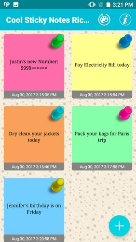 Download Cool sticky notes for Android for free. Apps for phones and tablets.
