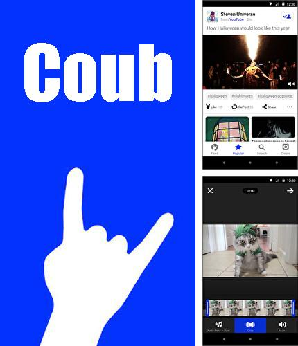 Besides Alfred: Home Security Camera Android program you can download Coub for Android phone or tablet for free.