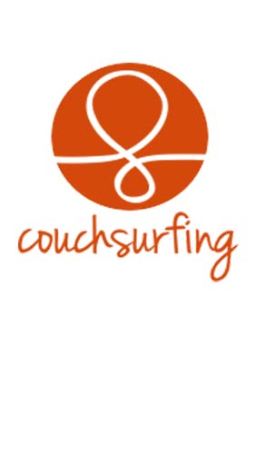 Couchsurfing travel app