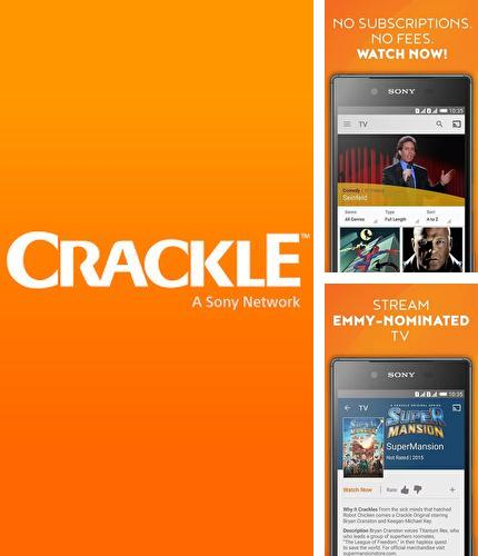 Besides Smart sleep manager Android program you can download Crackle - Free TV & Movies for Android phone or tablet for free.
