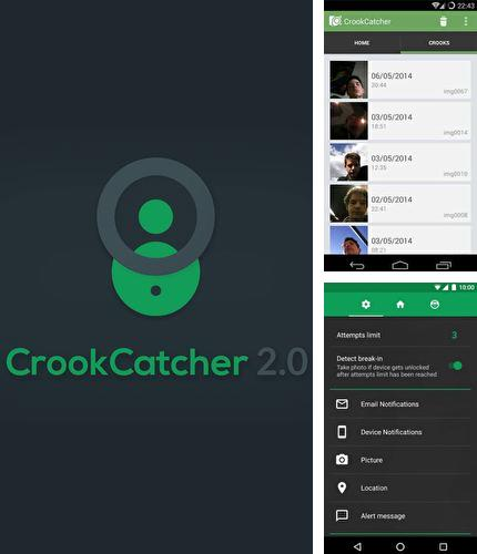 Besides Network Counter Android program you can download CrookCatcher - Anti theft for Android phone or tablet for free.